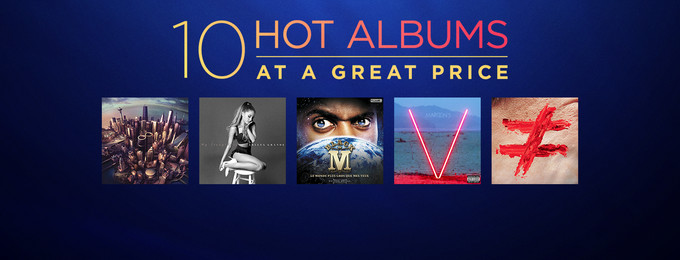 10 Hot Albums at Great Prices