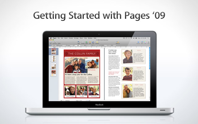 Getting Started with Pages