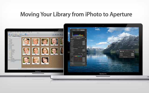 Moving Your Library from iPhoto to Aperture