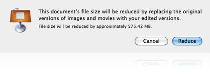 Réduire la taille du fichier de votre présentation