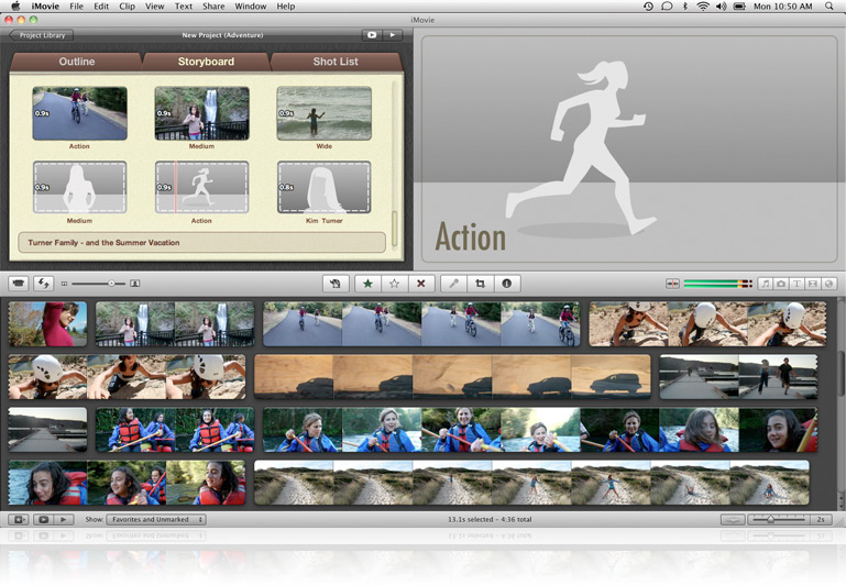 Apple (Canada) - iLife - iMovie - Read about movie trailers and more ...