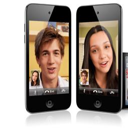 Et voici le nouvel iPod touch. Facetime