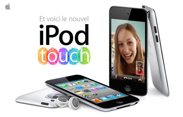 Et voici le nouvel iPod touch. Mainimage