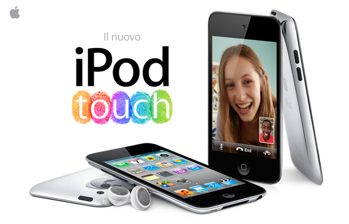 Il nuovo iPod touch.