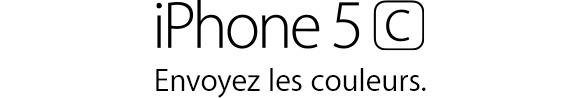 iPhone5c. Envoyez les couleurs.