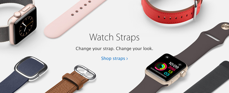Watch Straps Change your strap. Change your look. Shop straps