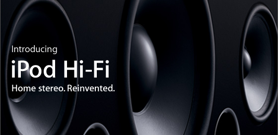 introducing ipod hi fi home stereo reinvented