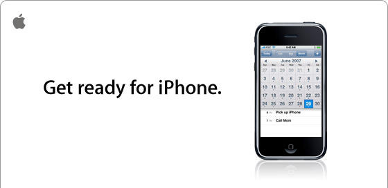 Get ready for iPhone.