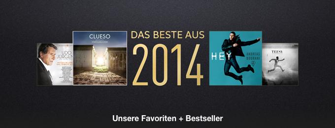 Das Beste aus 2014: Musik