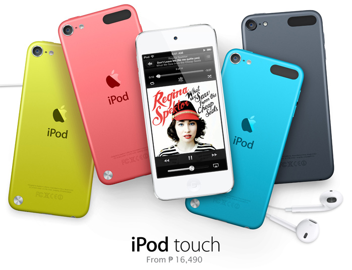 iPod touch. From ₱ 16,490.