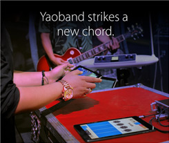 Yaoband strikes a new chord.