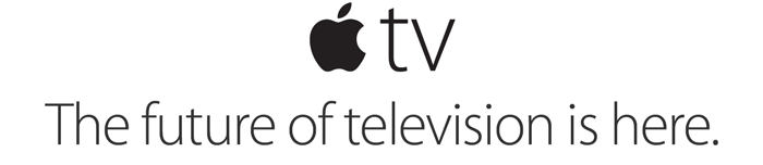 Apple TV. The future of television is here.