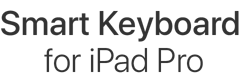 Smart Keyboard for iPad Pro.
