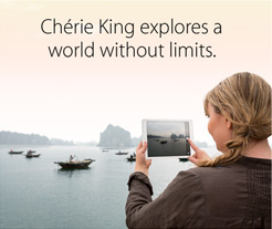 Chérie King explores a world without limits.