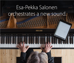Esa-Pekka Salonen orchestrates a new sound.