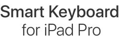 Smart Keyboard for iPad Pro.