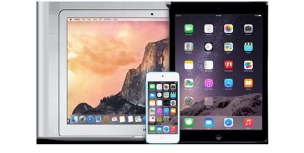 Mac, iPad and iPod
