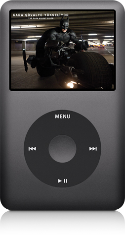 Video özellikli iPod classic
