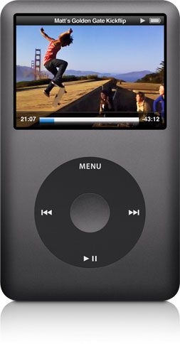 iPod classic with video