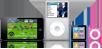iPod touch, iPod classic, iPod nano, iPod shuffle