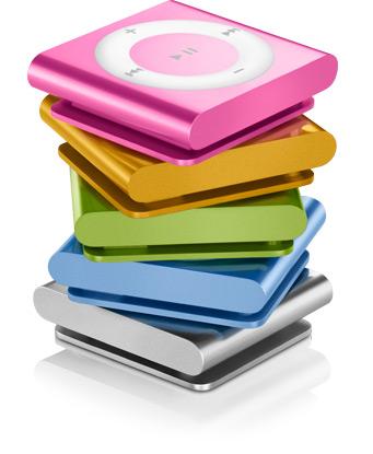 Плеер очень похож на iPod shuffle, однако вместо кнопок он оснащён...