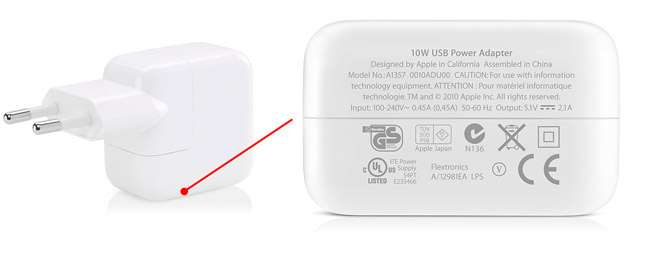 W Usb Power Adapter Iphone