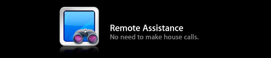 No need to make house calls