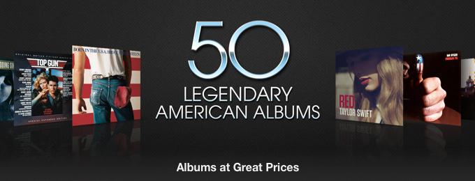 50 Legendary American Albums
