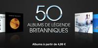 50 albums britanniques de légende