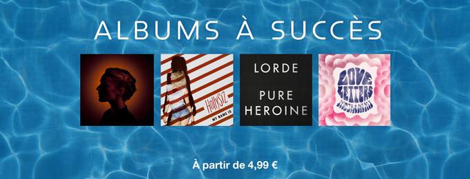 Albums à succès à partir de 4,99 €