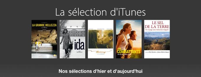 La sélection d'iTunes