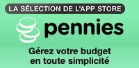 Pennies – Gestionnaire personnel d'argent, de budget et de finances