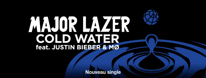 Cold Water (feat. Justin Bieber & MØ) - Single
