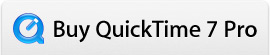 Buy QuickTime 7 Pro