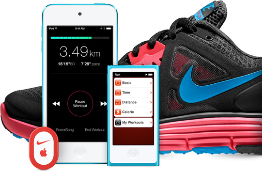 nike free walking app for ipod