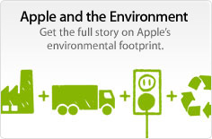 Apple and the Environment. Get the full story on Apple's environmental footprint.