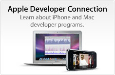 Apple Developer Connection. Learn about iPhone and Mac developer programs.