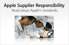 Apple Supplier Responsibility. Read about Apple's standards.