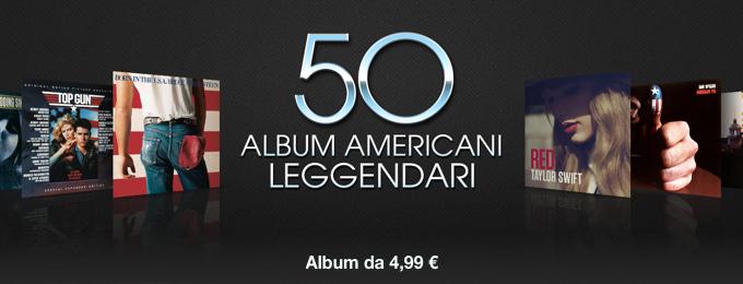 50 album americani leggendari