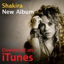 Shakira on iTunes