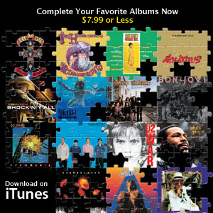 Apple iTunes puzzle collage image link