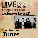Kings Of Leon. The Apple Store in SoHo watched the ghosts of classic rock glories of the past come to life in the form of Kings of Leon. - Apple iTunes