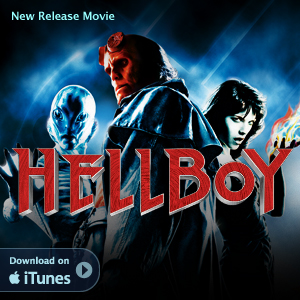Apple iTunes Music & Movies: Download New Release Movie HellBoy On