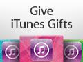 Apple iTunes Music Download gifttcards
