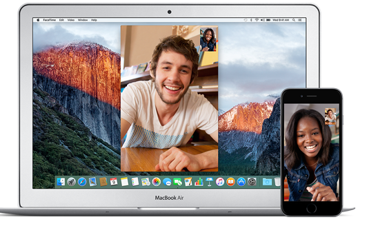 Say hello to facetime for mac