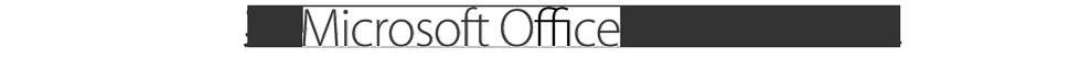 與 Microsoft Office 的文件兼容性