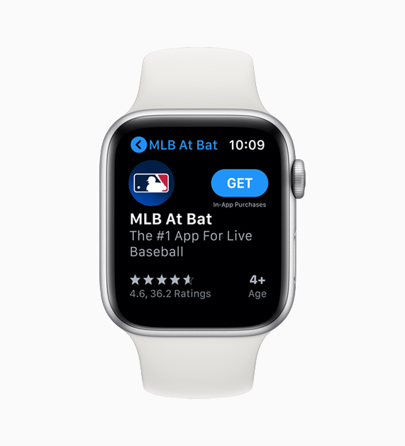 App Store on Apple Watch.