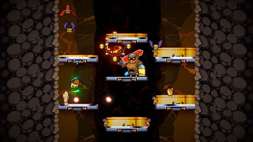 """Exit the Gungeon"" from Devolver for Apple Arcade."