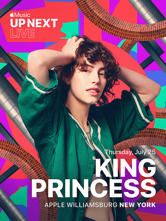 Apple Music Up Next Live featuring King Princess at Apple Williamsburg.