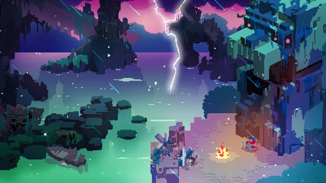 "Screenshot from ""Hyper Light Drifter."""
